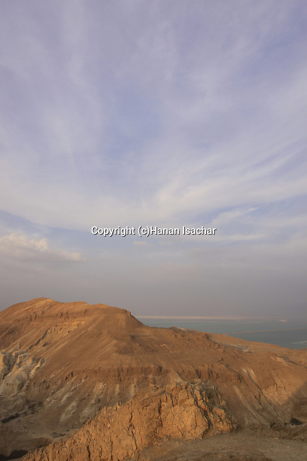 Israel, Judean Desert, a view from Route 31, the Sodom-Arad road