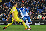 League Santander 2017-2018 - Game: 24.<br /> RCD Espanyol vs Villarreal CF: 1-1.<br /> Javi Fuego vs Carlos Alberto Sanchez.