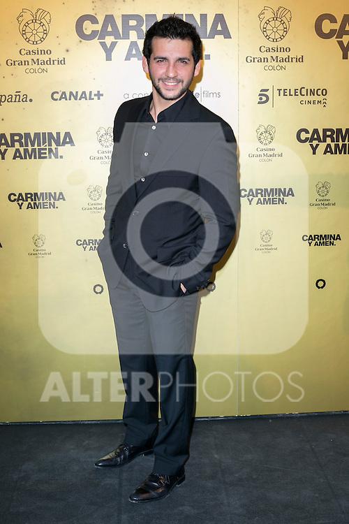 "Spanish actor Fran Perea attend the Premiere of the movie ""Carmina y Amen"" at the Callao Cinema in Madrid, Spain. April 28, 2014. (ALTERPHOTOS/Carlos Dafonte)"
