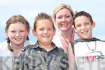 Enjoying the bike show in Lisselton on Saturday were Sarah and Emma Keane with Conor and Jaydon Prendevlle...   Copyright Kerry's Eye 2008