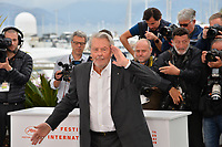 CANNES, FRANCE. May 19, 2019: Alain Delon at the photocall for French actor Alain Delon receiving the Palme D'Or D'Honneur at the 72nd Festival de Cannes.<br /> Picture: Paul Smith / Featureflash