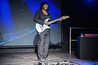 Joan Armatrading auf Me, Myself, I Tour 2015 in der Meier Music Hall  Braunschweig am 21.January 2015. Foto: Rüdiger Knuth
