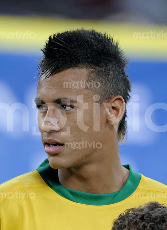 FUSSBALL   INTERNATIONAL   Testspiel  in  Doha  17.11.2010 Argentinien - Brasilien NEYMAR (Brasilien)
