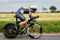 Picture by Alex Whitehead/SWpix.com - 07/09/2017 - Cycling - OVO Energy Tour of Britain - Stage 5, The Tendring Stage Individual Time Trial - Mark Cavendish of Dimension Data in action.