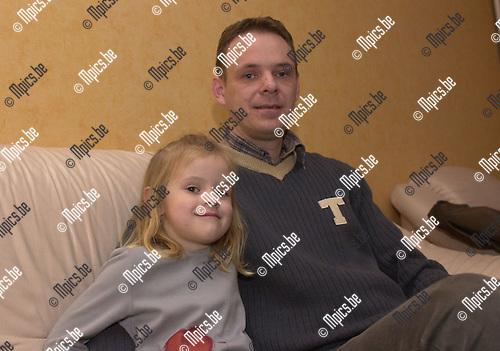 Gouden 11 : Caro Cuppers met haar papa.