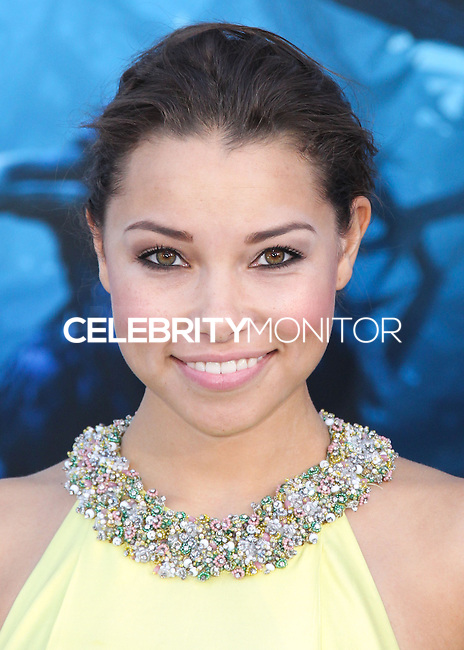 HOLLYWOOD, LOS ANGELES, CA, USA - MAY 28: Jessica Parker Kennedy at the World Premiere Of Disney's 'Maleficent' held at the El Capitan Theatre on May 28, 2014 in Hollywood, Los Angeles, California, United States. (Photo by Xavier Collin/Celebrity Monitor)