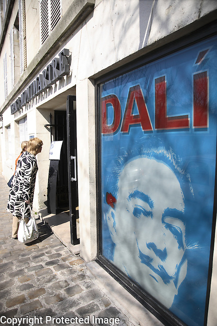 Dali Museum, Montmartre, Paris, France