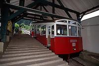 Deutschland, Oberweißbacher Bergbahn in Thüringen