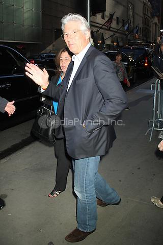 NEW YORK, NY - SEPTEMBER 11: Richard Gere at Good Morning America in New York City. September 11, 2012. ©RW/MediaPunch Inc.