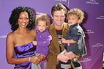 LOS ANGELES, CA. - November 07: Garcelle Beauvais-Nilon and family arrive at the March of Dimes 4th Annual Celebration of Babies at the Four Seasons Hotel on November 7, 2009 in Los Angeles, California.