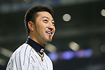 Ryosuke Kikuchi (JPN), <br /> MARCH 14, 2017 - WBC : <br /> 2017 World Baseball Classic <br /> Second Round Pool E Game <br /> between Japan 8-5 Cuba <br /> at Tokyo Dome in Tokyo, Japan. <br /> (Photo by YUTAKA/AFLO SPORT)