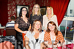 Enjoying the evening in Cassidys on Friday.<br /> Front l to r: Catherine Barry and Corina Mangan.<br /> Back l to r: Catherine Duggan, Karen Glover and Maura Shortt.