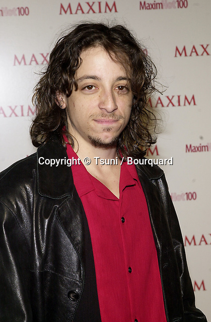 """Michael Bacal arriving at the party organize by The Magazine Maxim """" Hot 100 """"  at Moomba club in Los Angeles  5/3/2001  BacalMichael02.jpg"""