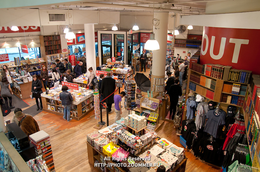 Strand Famous Bookstore on 828 Broadway, Manhattan (New York City)