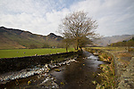 The Langdale Valley, Lake District, Cumbria, UK