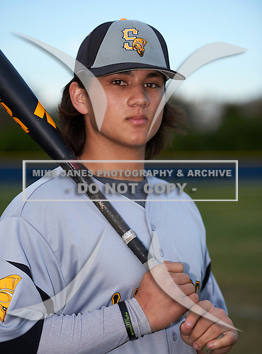 Lakewood Spartans shortstop Bo Bichette (19) poses for a photo after a game against the Boca Ciega Pirates at Boca Ciega High School on March 2, 2016 in St. Petersburg, Florida.  (Copyright Mike Janes Photography)