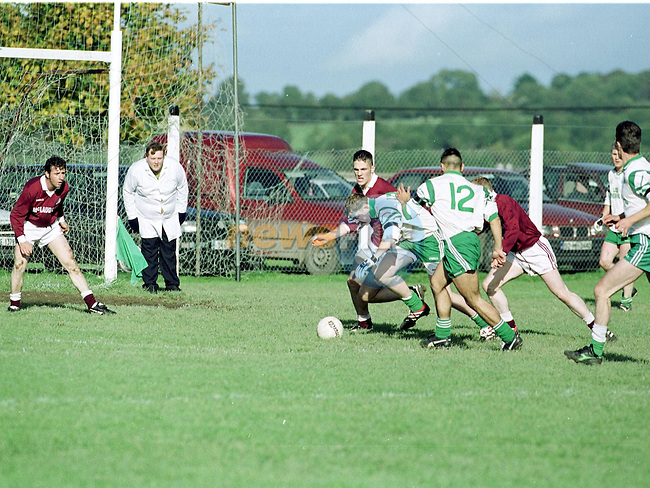 Action from the St Patricks V Ballivour Match.Pic Fran Caffrey Newsfile.Please Byline