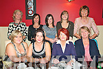 Bride To Be : Bride to be Triona Lynch ,Kilflynn, second from left front, on her hen night with family and friends at Fitzgerald's Restaurant, Listowel on Saturday night last. Front: Sally Kearney, Triona Lynch, Marian Lynch & Nora Hayes. Back : Majella Barrett, Dolores Smeaton, Michelle Lynch, Eimear Lynch & Philomena Sexton.