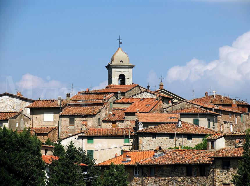 Castelvecchio, Tuscany, Ital