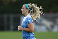 Piscataway, NJ - Saturday Aug. 27, 2016: Julie Johnston during a regular season National Women's Soccer League (NWSL) match between Sky Blue FC and the Chicago Red Stars at Yurcak Field.