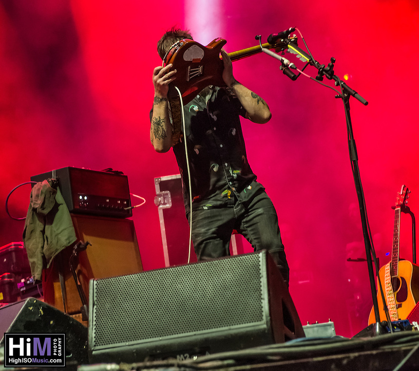 Modest Mouse at Voodoo Fest 2015.
