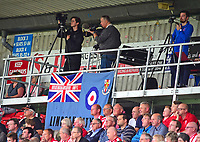 A general view of Sincil Bank, home of Lincoln City FC showing the new TV gantry<br /> <br /> Photographer Andrew Vaughan/CameraSport<br /> <br /> The EFL Sky Bet League Two - Lincoln City v Morecambe - Saturday August 12th 2017 - Sincil Bank - Lincoln<br /> <br /> World Copyright &copy; 2017 CameraSport. All rights reserved. 43 Linden Ave. Countesthorpe. Leicester. England. LE8 5PG - Tel: +44 (0) 116 277 4147 - admin@camerasport.com - www.camerasport.com