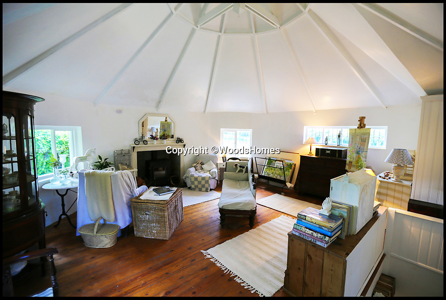 """BNPS.co.uk (01202 558833)Pic: WoodsHomes/BNPS<br /> <br /> A pretty thatched cottage where William of Orange is said to have held his first parliament 330 years ago is on the market for £575,000.<br /> <br /> Grade II listed Parliament House in Longcombe, Devon, is named after the momentous occasion when the Dutch prince held a meeting in November 1688 as he started his 'Glorious Revolution' to remove James II from the throne.<br /> <br /> And in the garden a carved stone's inscription reads: """"William Prince of Orange is said to have held his first Parliament here in November 1688.""""<br /> <br /> Originally thought to be four cottages, the five-bedroom property has a quirky layout with different levels linked by several staircases and lots of period features.<br /> <br /> It is now on the market with Woods estate agents."""