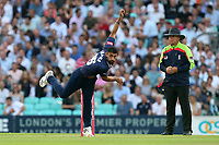 Ravi Bopara in bowling action for Essex during Surrey vs Essex Eagles, Vitality Blast T20 Cricket at the Kia Oval on 12th July 2018