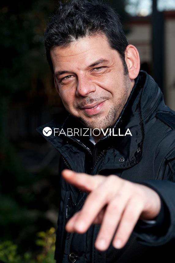 Salvo Sottile, giornalista e conduttore di Quarto Grado su Canale 5. Foto Fabrizio Villa