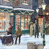 Addy, CHRISTMAS LANDSCAPE, paintings+++++,GBAD123654,#XL#