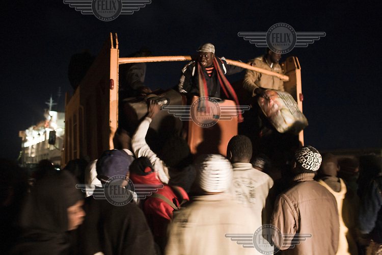 Between 200 and 300 Nigerian people arrived at the port of Misurata on the evening of 17th of April to try and board an IOM (International Organisation of Migration) charted ferry to transport 3rd party nationals back to Bengazi and eventually back to their country of origin. On 17 February 2011 Libya saw the beginnings of a revolution against the 41 year regime of Col Muammar Gaddafi.