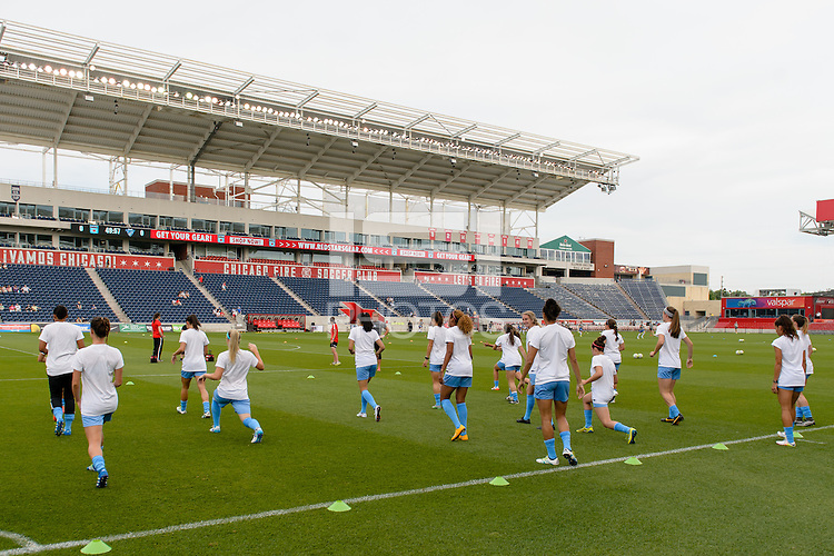 Bridgeview, IL   Saturday June 18, 2016: Chicago Red Stars, Toyota Park