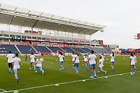 Bridgeview, IL - Saturday June 18, 2016: Chicago Red Stars, Toyota Park during a regular season National Women's Soccer League (NWSL) match between the Chicago Red Stars and the Boston Breakers at Toyota Park.