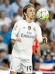 Real Madrid's Luka Modric during La Liga match. September 26,2015. (ALTERPHOTOS/Acero)