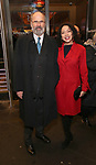 "Daniel Sullivan and Julie Fate attends the Broadway Opening Night Performance of ""John Lithgow: Stories by Heart"" at the American Airlines Theatre on January 11, 2018 in New York City."