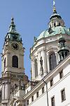 St Nicholas Church in Lesser Town in Prague, Czech Republic.