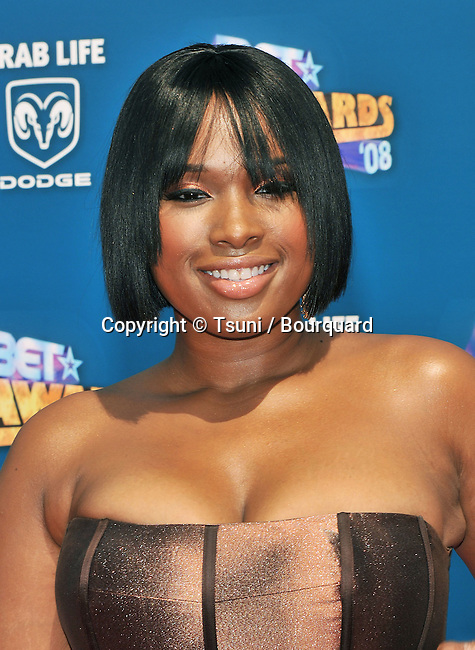 Jennifer Hudson  - <br /> BET Awards at the Shrine Amphitheatre  In Los Angeles.<br /> <br /> headshot<br /> eye contact<br /> smile