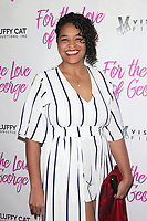 HOLLYWOOD, CA - February 12: Valley Hintzen, at Premiere Of Vision Films' 'For The Love Of George' at TCL Chinese 6 Theatres in Hollywood, California on February 12, 2018. Credit: Faye Sadou/MediaPunch