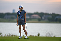 Jenny Shin (KOR) watches her putt on 11 during the round 2 of the Volunteers of America Texas Classic, the Old American Golf Club, The Colony, Texas, USA. 10/4/2019.<br /> Picture: Golffile | Ken Murray<br /> <br /> <br /> All photo usage must carry mandatory copyright credit (© Golffile | Ken Murray)