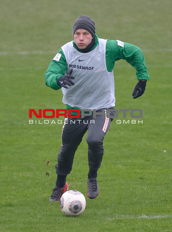 23.01.2014, Trainingsgelaende, Bremen, GER, 1.FBL, Training Werder Bremen, im Bild <br /> <br /> Foto &copy; nordphoto / Frisch