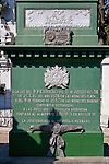 William Brown Tomb (admiral) (1777-1857), admiral, father of the Argentine Navy, La Recoleta Cemetery