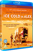 Ice Cold in Alex (1958) <br /> BLU RAY COVER ART<br /> *Filmstill - Editorial Use Only*<br /> CAP/KFS<br /> Image supplied by Capital Pictures