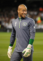 08/10/2015; UEFA Euro 2016 Group D Qualifier - Republic of Ireland v Germany, Aviva Stadium, Dublin. <br /> Darren Randolph<br /> Picture credit: Tommy Grealy/actionshots.ie.