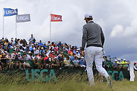 Bernd Wiesberger (AUT) walks to the 1st tee to start his match during Sunday's Final Round of the 117th U.S. Open Championship 2017 held at Erin Hills, Erin, Wisconsin, USA. 18th June 2017.<br /> Picture: Eoin Clarke | Golffile<br /> <br /> <br /> All photos usage must carry mandatory copyright credit (&copy; Golffile | Eoin Clarke)
