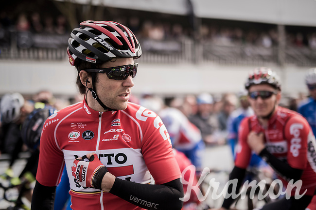 Tony Gallopin (FRA/Lotto-Soudal) before the race<br /> <br /> 60th E3 Harelbeke (1.UWT)<br /> 1day race: Harelbeke &rsaquo; Harelbeke - BEL (206km)