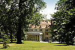 Winterthur.Alfred I. DuPont Residence and perennial gardens.