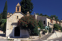 church, France, St.Paul de Vence, Cote d' Azur, Provence, Alpes-Maritimes, Europe, Historic church in the hilltop village of Saint Paul de Vence.