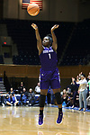 DURHAM, NC - NOVEMBER 16: High Point's Kat Harris. The Duke University Blue Devils hosted the High Point University Panthers on November 16, 2017 at Cameron Indoor Stadium in Durham, NC in a Division I women's college basketball game. Duke won the game 77-50.