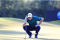 Justin Rose (ENG) on the 17th green during Saturday's Round 3 of the 2018 Turkish Airlines Open hosted by Regnum Carya Golf &amp; Spa Resort, Antalya, Turkey. 3rd November 2018.<br /> Picture: Eoin Clarke | Golffile<br /> <br /> <br /> All photos usage must carry mandatory copyright credit (&copy; Golffile | Eoin Clarke)