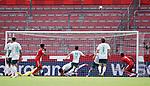 1:0 Tor v.l. Torwart Jiri Pavlenka (Bremen), Jeremiah St. Juste, Theodor Gebre Selassie, Milos Veljkovic, Yuya Osako, Torschuetze Robin Quaison (Mainz)<br /><br />Sport: Fussball: 1. Bundesliga:: nphgm001:  Saison 19/20: 33. Spieltag: 1. FSV Mainz 05 vs SV Werder Bremen 20.06.2020<br />Foto: Wagner/Witters/Pool//via gumzmedia/nordphoto<br /><br /><br /> DFL REGULATIONS PROHIBIT ANY USE OF PHOTOGRAPHS AS IMAGE SEQUENCES AND OR QUASI VIDEO<br />EDITORIAL USE ONLY<br />NATIONAL AND INTERNATIONAL NEWS AGENCIES OUT
